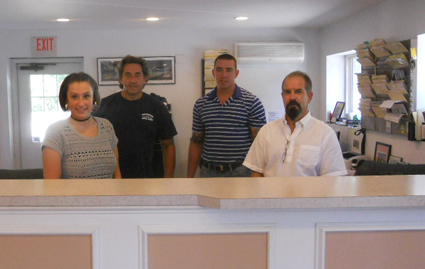 Pattersons Autobody front office staff